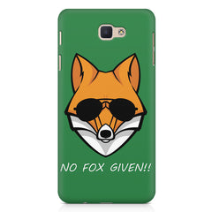 No fox given design Samsung J7 Max  printed back cover