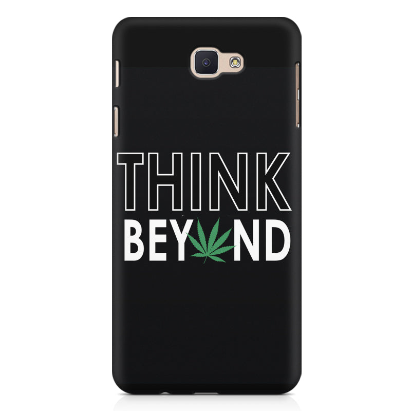 detailed look 6addb c3df2 Think beyond weed design Samsung J7 Prime printed back cover