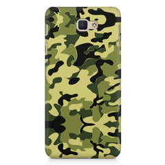 Camoflauge army color design Samsung Galaxy On7 2016  printed back cover