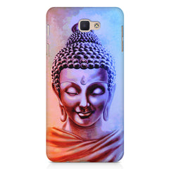 Lord Buddha design Samsung J7 Prime  printed back cover