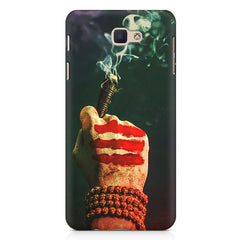 Smoke weed (chillam) design Samsung J7 Max  printed back cover