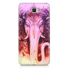 Lord Ganesha design Samsung Galaxy On7 2016  printed back cover