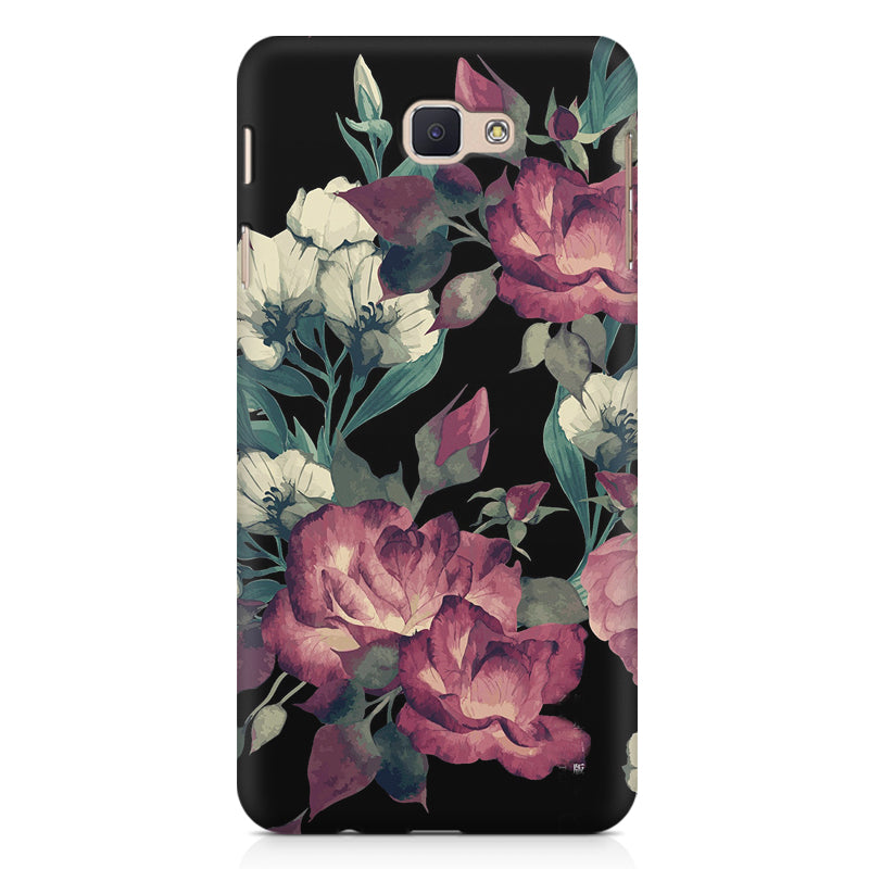 best service bebf9 6d295 Abstract colorful flower design Samsung Galaxy J5 Prime printed back cover