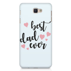 Best Dad Ever Design Samsung Galaxy A3 2017 hard plastic printed back cover.