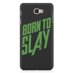 Born to Slay Design Samsung Galaxy A3 2017 hard plastic printed back cover.