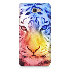 Colourful Tiger Design Samsung Galaxy A3 2017 hard plastic printed back cover.