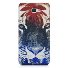 Pixel Tiger Design Samsung Galaxy A3 2017 hard plastic printed back cover.