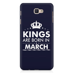 Kings are born in March design Samsung Galaxy A3 2017 all side printed hard back cover by Motivate box Samsung Galaxy A3 2017 hard plastic printed back cover.
