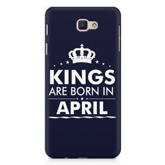 Kings are born in April design Samsung Galaxy A3 2017 all side printed hard back cover by Motivate box Samsung Galaxy A3 2017 hard plastic printed back cover.
