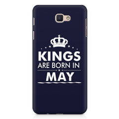 Kings are born in May design Samsung Galaxy A3 2017 all side printed hard back cover by Motivate box Samsung Galaxy A3 2017 hard plastic printed back cover.