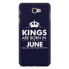 Kings are born in June design Samsung Galaxy A3 2017 all side printed hard back cover by Motivate box Samsung Galaxy A3 2017 hard plastic printed back cover.