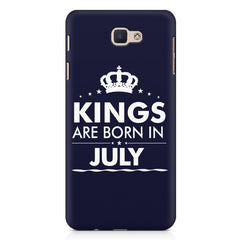 Kings are born in July design Samsung Galaxy A3 2017 all side printed hard back cover by Motivate box Samsung Galaxy A3 2017 hard plastic printed back cover.