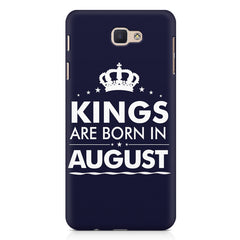 Kings are born in August design Samsung Galaxy A3 2017 all side printed hard back cover by Motivate box Samsung Galaxy A3 2017 hard plastic printed back cover.