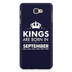 Kings are born in September design Samsung Galaxy A3 2017 all side printed hard back cover by Motivate box Samsung Galaxy A3 2017 hard plastic printed back cover.