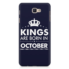 Kings are born in October design Samsung Galaxy A3 2017 all side printed hard back cover by Motivate box Samsung Galaxy A3 2017 hard plastic printed back cover.