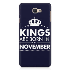 Kings are born in November design Samsung Galaxy A3 2017 all side printed hard back cover by Motivate box Samsung Galaxy A3 2017 hard plastic printed back cover.