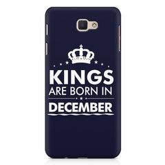 Kings are born in December design Samsung Galaxy A3 2017 all side printed hard back cover by Motivate box Samsung Galaxy A3 2017 hard plastic printed back cover.