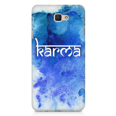 Karma Samsung Galaxy A3 2017 hard plastic printed back cover.