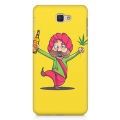 Sardar dancing with Beer and Marijuana  Samsung Galaxy A3 2017 hard plastic printed back cover.