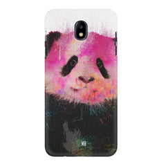 Polar Bear portrait design Samsung J7 Pro hard plastic printed back cover
