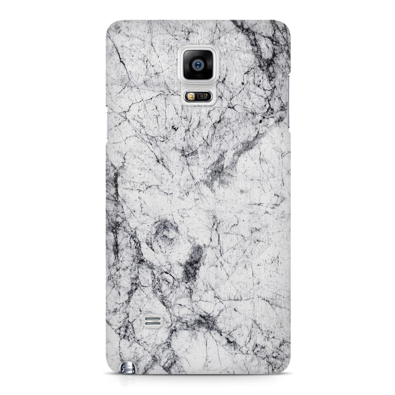 brand new 15184 ae44d Black n white marble Galaxy Note 4 hard case printed back cover