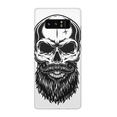 Skull with the beard  design,  Galaxy note 8  printed back cover