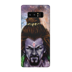 Shiva Anger  Galaxy note 8  printed back cover