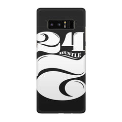 Always hustle design Galaxy note 8  printed back cover