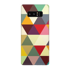 Colourful pattern design Galaxy note 8  printed back cover