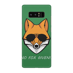 No fox given design Galaxy note 8  printed back cover