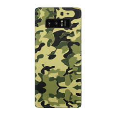 Camoflauge army color design Galaxy note 8  printed back cover
