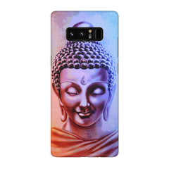 Lord Buddha design Galaxy note 8  printed back cover