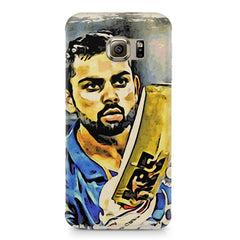 Virat Kohli  design,  Samsung S6  printed back cover