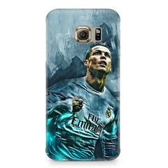 Oil painted ronaldo  design,  Samsung S7  printed back cover