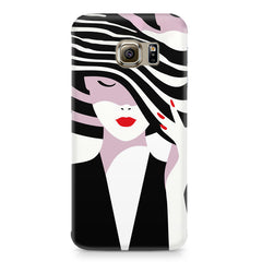 woman  design,  Samsung S6  printed back cover