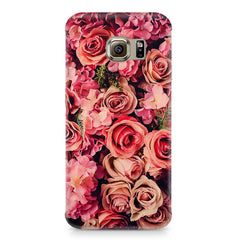 Roses  design,  Samsung S6  printed back cover
