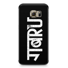 Gabru hindi quirky  design,  Samsung S6  printed back cover