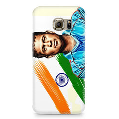 Sachin Tendulkar blue  Samsung S6  printed back cover