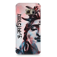 Shiva face   Samsung S6  printed back cover