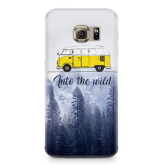 Into the wild for travel Wanderlust people Samsung S6  printed back cover