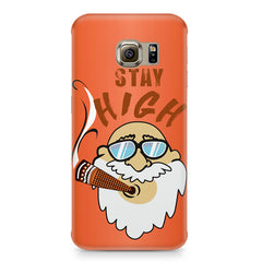 Stay high  design,  Samsung S6 Edge G9250  printed back cover