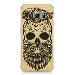 Voguish skull  design,  Samsung S6 Edge Plus  printed back cover