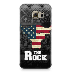 The Rock  design,  Samsung S6 Edge G9250  printed back cover