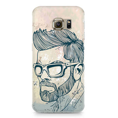 Virat Kohli Stylish Abstract Art design,  Samsung S6 Edge G9250  printed back cover