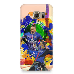 Zlatan Ibrahimovic Famous Footballer design,  Samsung S6 Edge Plus  printed back cover