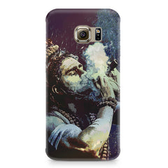 Smoking weed design Samsung S6  printed back cover
