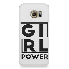 Girl power deisgn Samsung S6  printed back cover