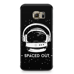Spaced out by music design Samsung S6  printed back cover