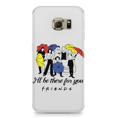 F.R.I.E.N.D.S. design Samsung S6  printed back cover