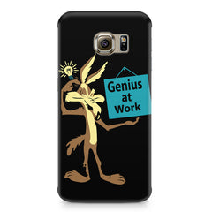 Genius at work design Samsung S7  printed back cover